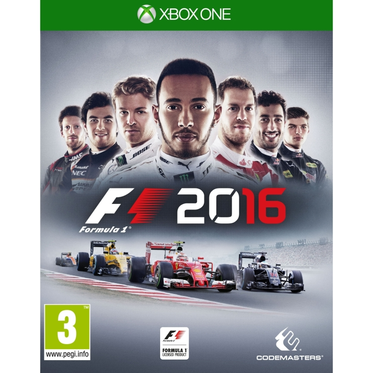 Image of Codemasters Formula 1 2016 Xbox One