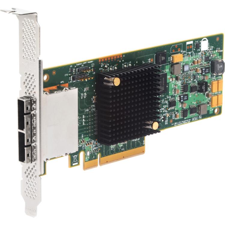 Image of BRC SAS 9207-8e 6GB/SAS/Sgl/PCIe
