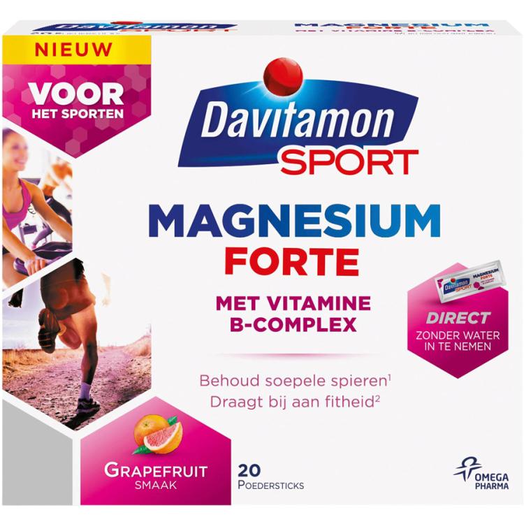 Image of Magnesium Forte Sticks, 20 Stuks