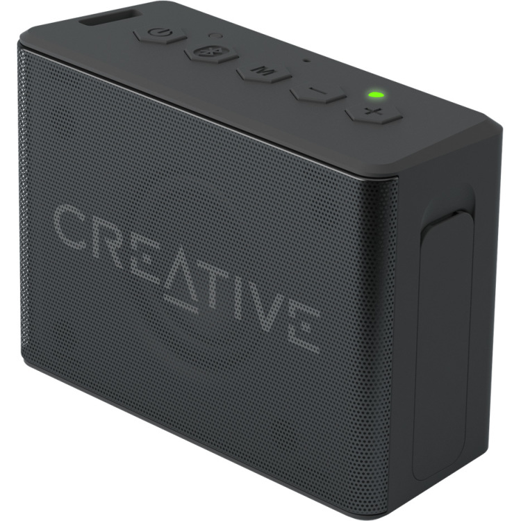 Image of Bluetooth luidspreker Creative Labs Muvo 2c Handsfree-functie, SD, Spatwaterdicht Zwart