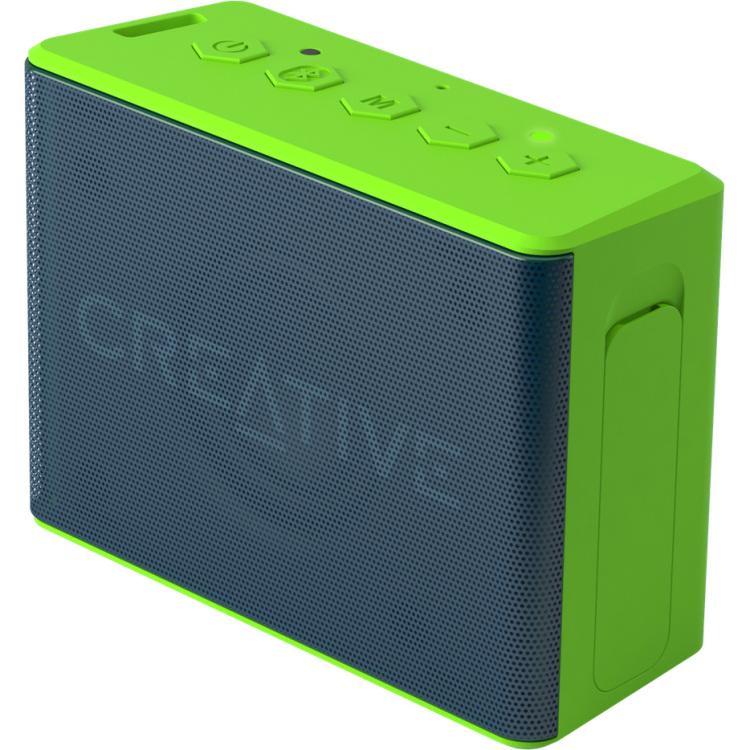 Image of Bluetooth luidspreker Creative Labs Muvo 2c Handsfree-functie, SD, Spatwaterdicht Groen