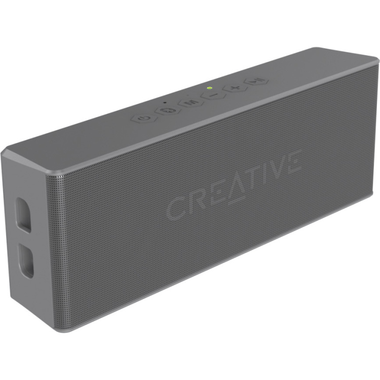 Image of Bluetooth luidspreker Creative Labs Handsfree-functie, SD, Spatwaterdicht Grijs