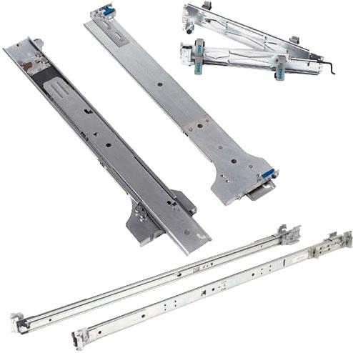 Image of 1U/2U Static Rails For 2 And 4 Post