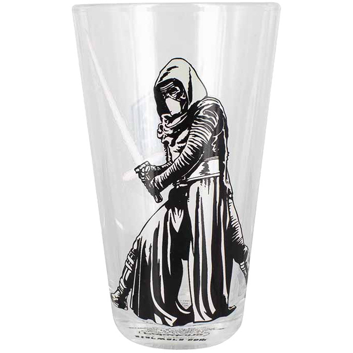 Productafbeelding voor 'Star Wars The Force Awakens: Kylo Ren Glass'