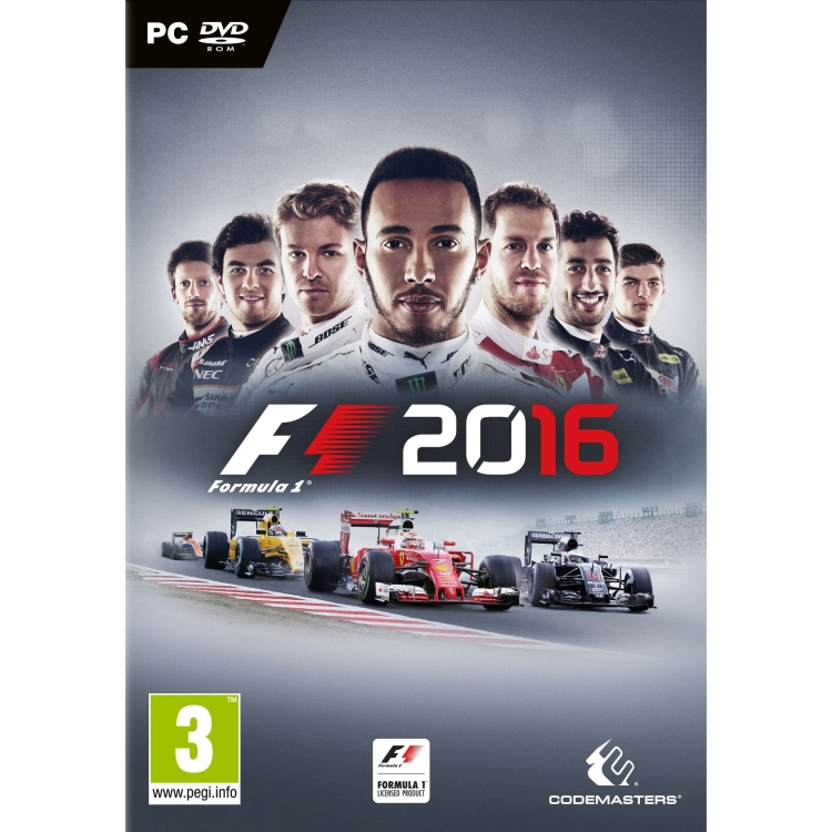 Image of Codemasters Formula 1 2016 PC