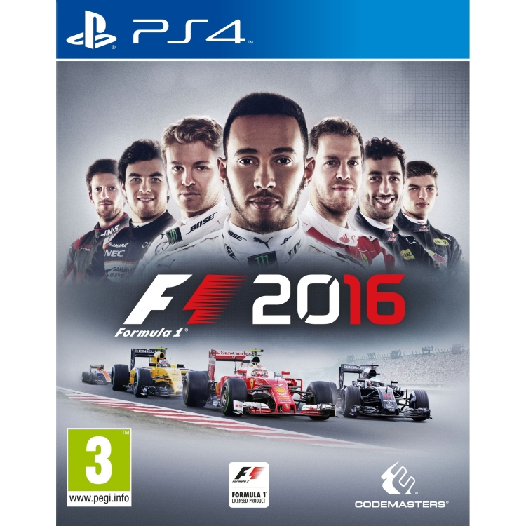 Image of Codemasters Formula 1 2016 PS4