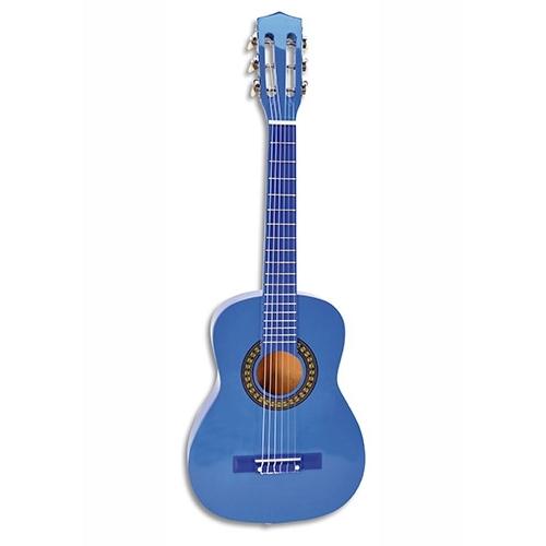 Image of Houten Gitaar 75 Cm, Blauw