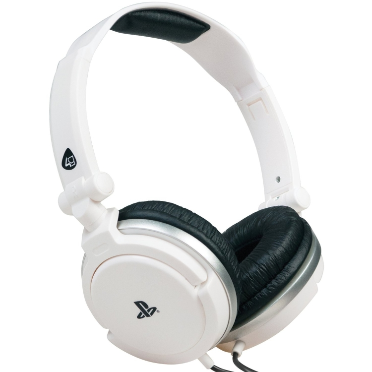 4Gamers Officially Licensed Stereo Gaming Headset White (PS4-PSVita)