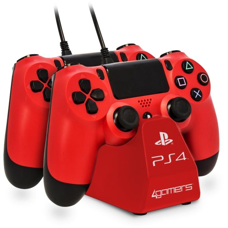 Image of 4Gamers 4G-4182RED Binnen Rood oplader voor mobiele apparatuur