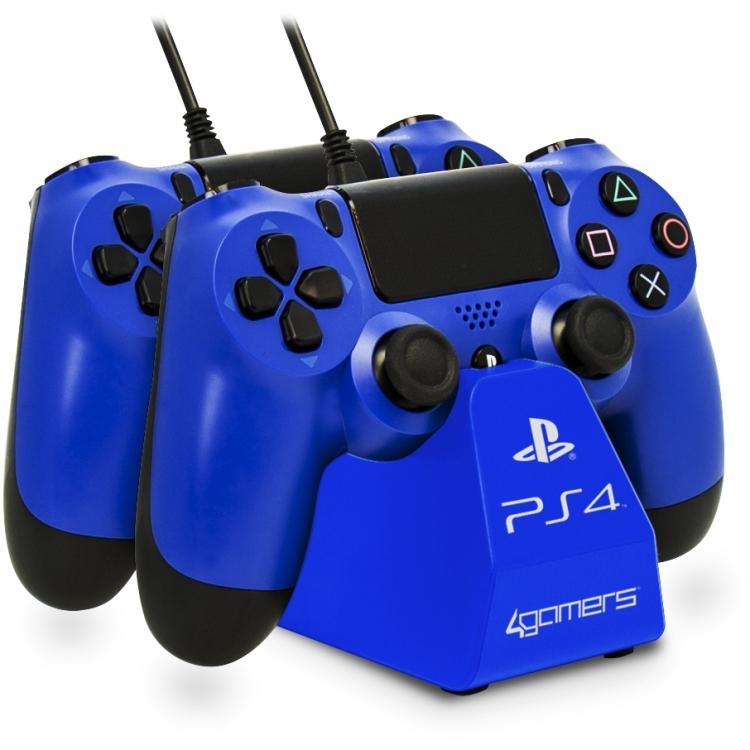 Image of 4Gamers 4G-4182BLU Binnen Blauw oplader voor mobiele apparatuur