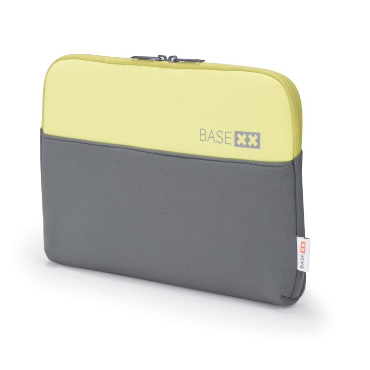 "Image of BASE XX - Notebook Sleeve, 13""""-13.3"""", Grey/Lime (D31138)"
