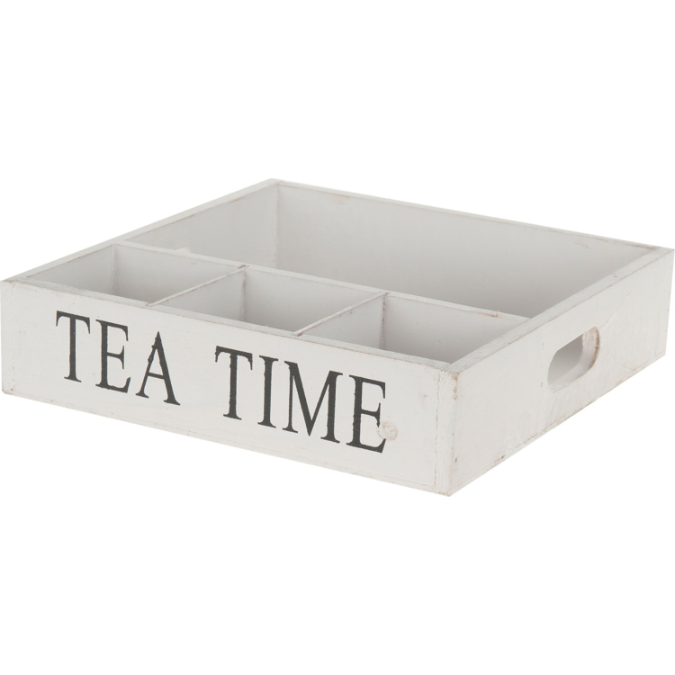 Image of Houten Dienblad Tea Time