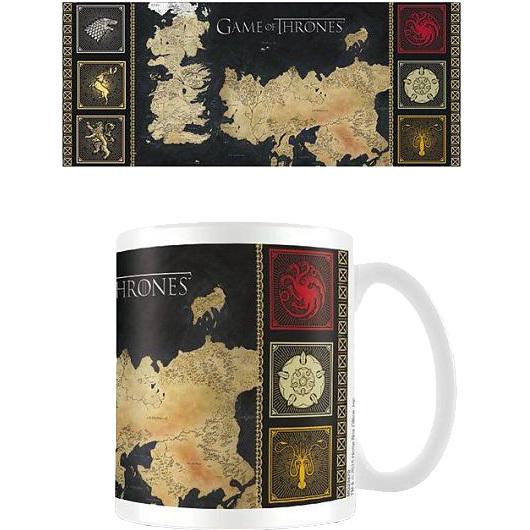 Game Of Thrones: Map Mug