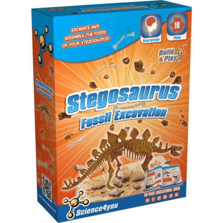 Image of Stegosaurus Fossil Excavation