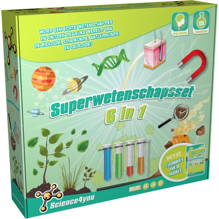Image of Superwetenschapsset 6 In 1