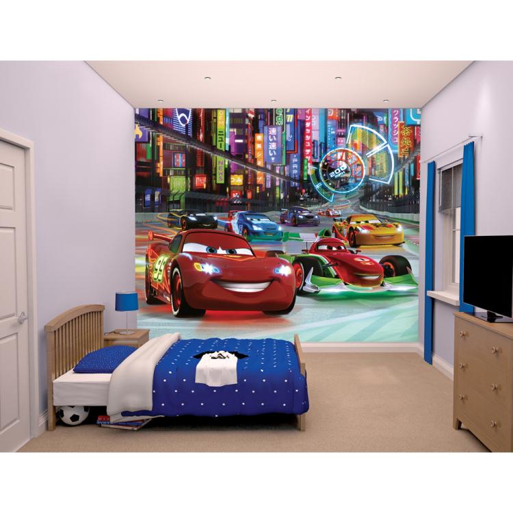 Behang Cars Walltastic: 245x305 Cm