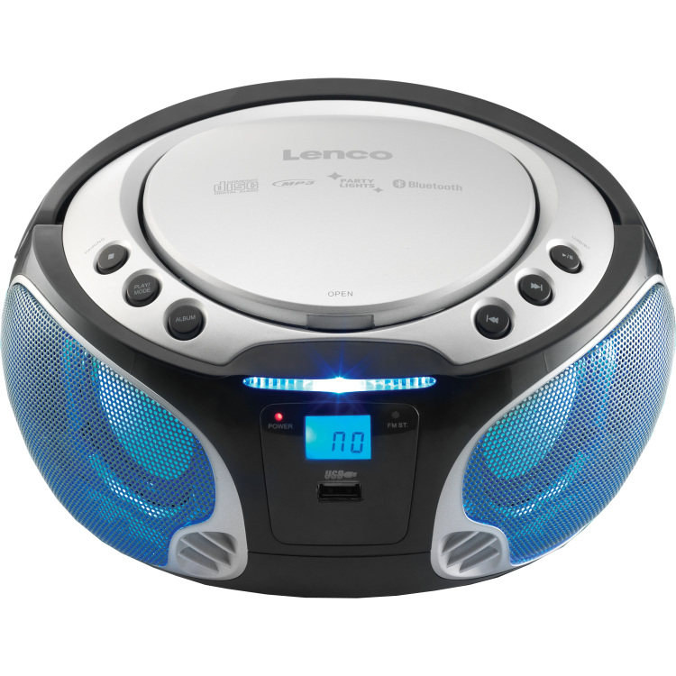 Lenc CD MP3 speler SCD-550 Zilver