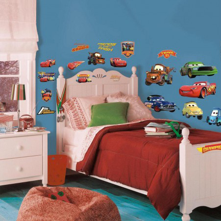 RoomMates muurstickers Cars Piston Cup
