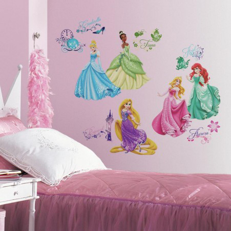 Disney RoomMates Muursticker Princess - Multi