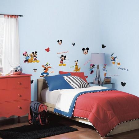 decoratiestickers Mickey & Friends