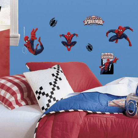 Marvel RoomMates Muursticker Ultimate Spider-Man - Multi