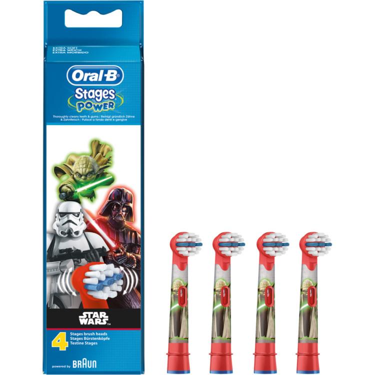 Productafbeelding voor 'Oral-B Opzetborstel Stages Power Star Wars'