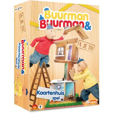 Image of Buurman & Buurman - Kaartenhuis spel