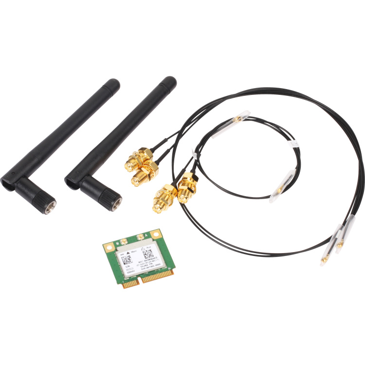 Shuttle WLAN-kit Mini-PCIe-802.11ac+BT for several XPC cube and slim barebon (POZ-WLNP01)