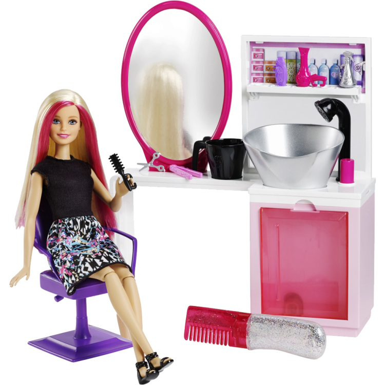 Image of Barbie Beauty Salon met Pop