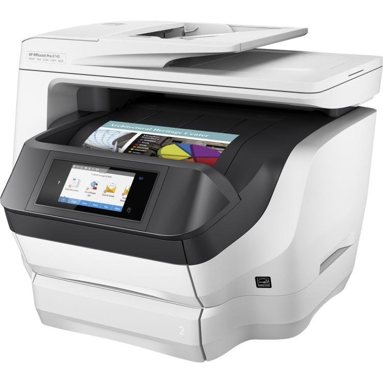 HP Officejet Pro 8740 aio 24ppm 1200dpi A4 (D9L21A#620)