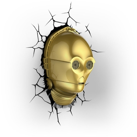 Image of 3D Light Star Wars C-3PO