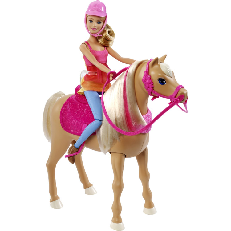 Image of Barbie Dansend Paard