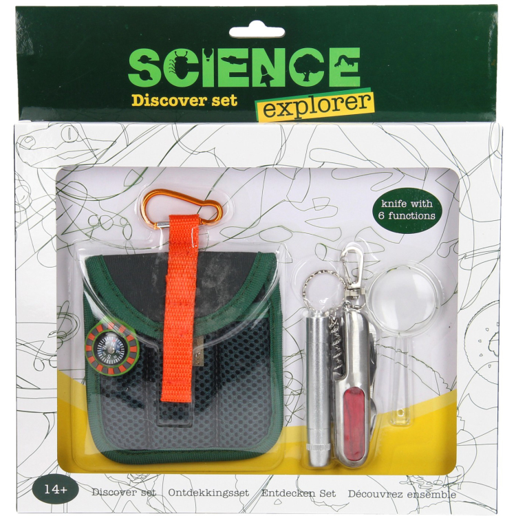 Image of Science Explorer Ontdekkingsset