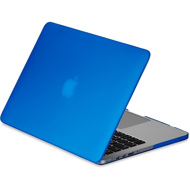 Gecko Covers 'Clip On' hoes voor MacBook Pro 13 inch Retina  - Blauw