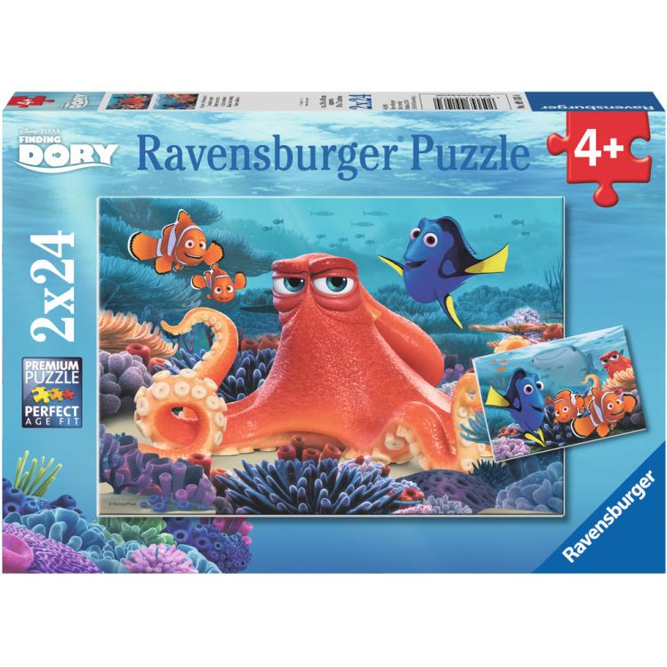 Image of Disney Pixar Finding Dory: Altijd Zwemmen Puzzels, 2x 24 Stukjes