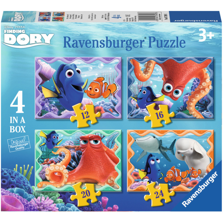 Image of Disney Pixar Finding Dory: We Zwemmen! Puzzels, 12+16+20+24 Stukjes
