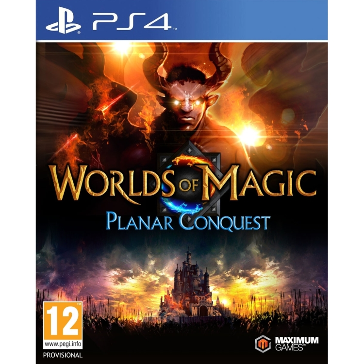Image of 505 Games Worlds of Magic, Planar Conquest PS4