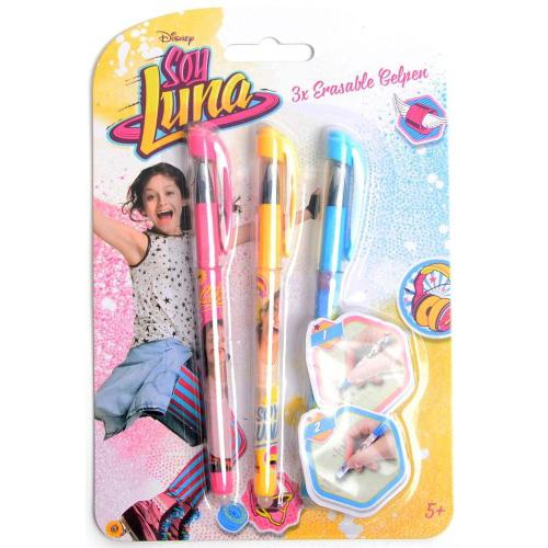 Disney Soy Luna uitwisbare gelpennen 3 stuks