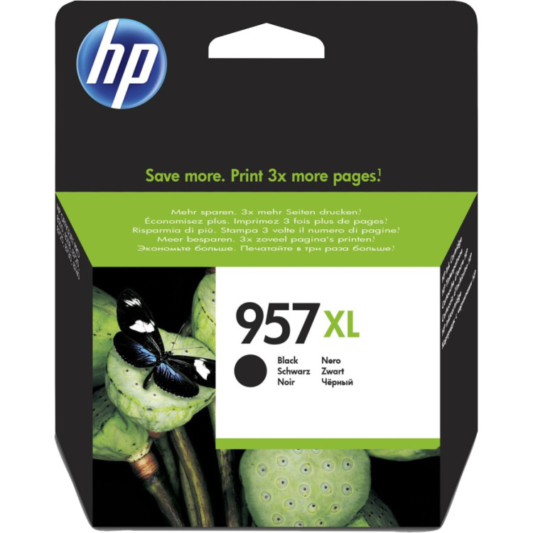 Image of 957XL High-capacity zwarte inktcartridge