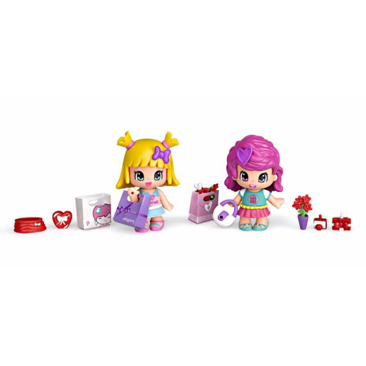 Image of Pinypon Shopping Friends
