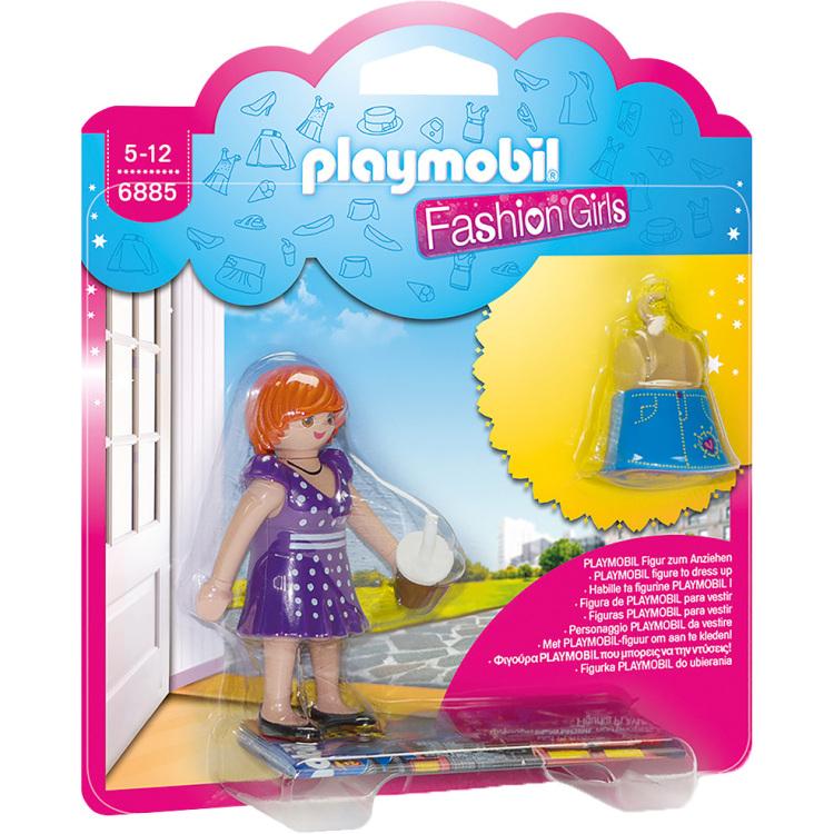 PLAYMOBIL City Life Fashion Girl stad 6885