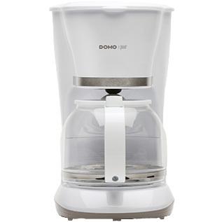 Image of Domo DO476K Filterkoffiezetapparaat 1.5l 12kopjes Wit koffiezetapparaat