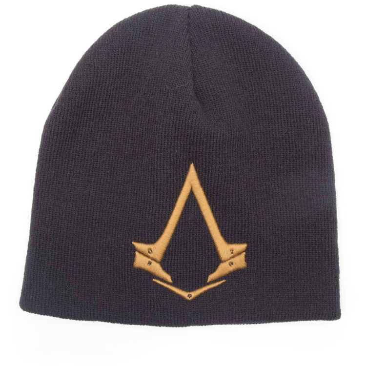 Image of Assassin's Creed Syndicate - Beanie Met Bronzen Logo - Muts