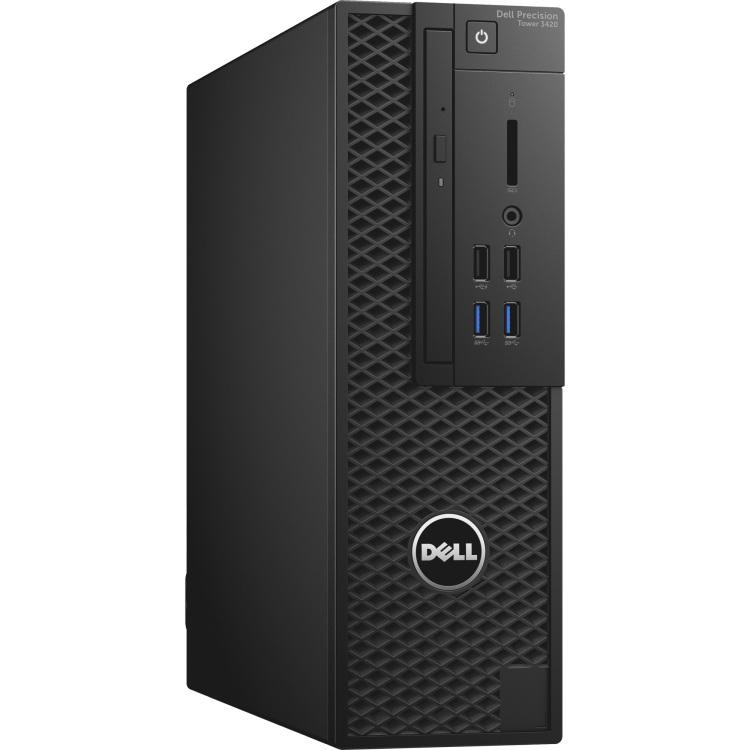 Image of Dell Preci T 3420 /Core i 5 6600 / 8 GB/ 1 TB/FirePro W 2100 /DVD RW/MUI W 7 Pro+W 10 /vPro/ 1 Yr NBD 3R0HP