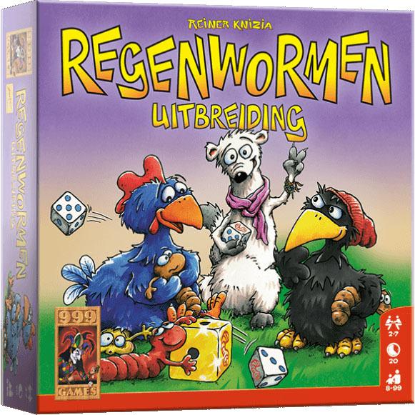 Image of 999 Games Spel Regenwormen Uitbreiding