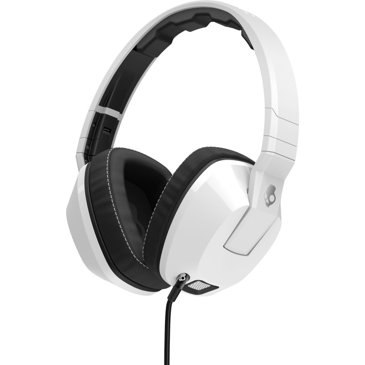 SKULLCANDY S6SCFZ-072 CRUSHER W-MIC 1 WHITE hoofdtelefoon