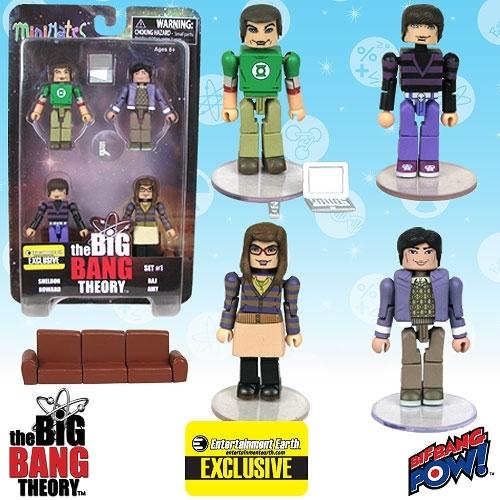 Image of The Big Bang Theory Minifiguren - Minimates Set 1 (EE Exclusive)