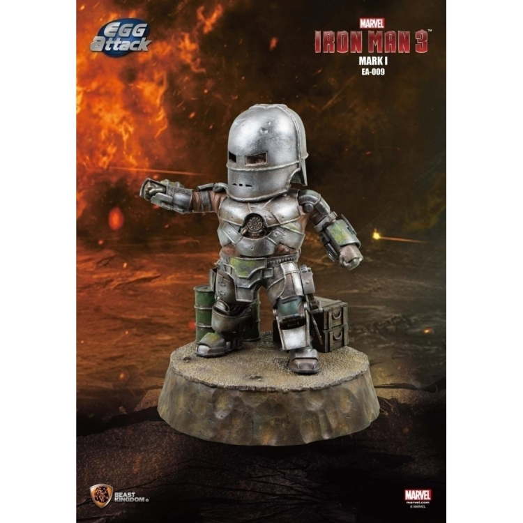 Image of Iron Man 3: Mark I Egg Attack Statue