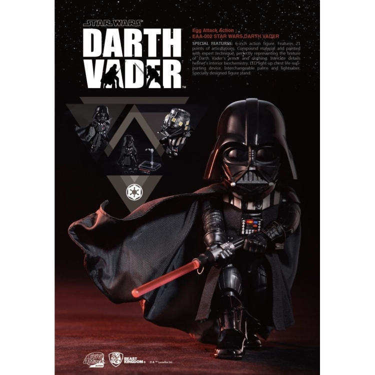 Image of Star Wars The Empire Strikes Back: Darth Vader Egg Attack AF