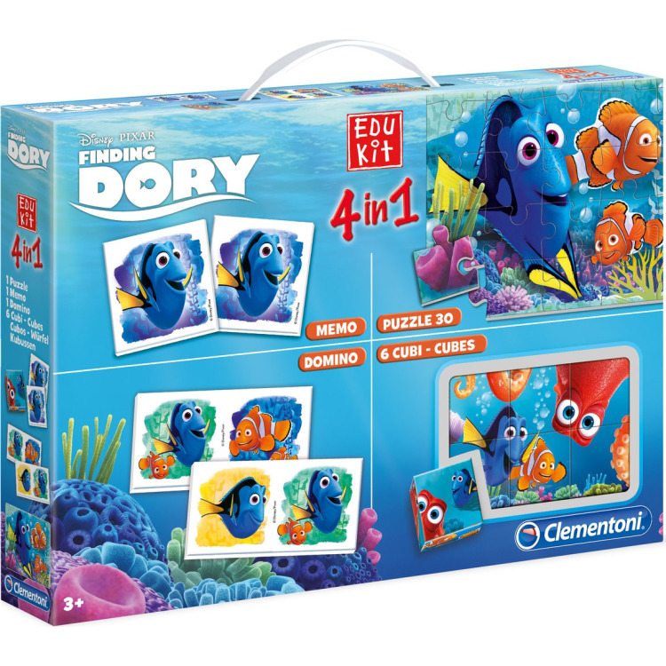 Image of Clementoni Edukit 4-in-1 Disney Finding Dory